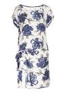 Biało-Niebieska Sukienka Aerilei