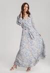 Ciemnoniebieska Sukienka Guinerinias