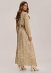 Jasnożółta Sukienka Guinerinias
