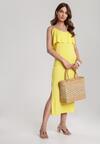 Żółta Sukienka Hyrah