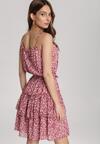 Koralowa Sukienka Vivilia