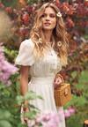 Biała Sukienka Aevien