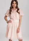 Jasnoróżowa Sukienka Aevien