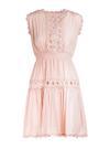 Jasnoróżowa Sukienka Larinia