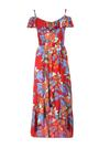 Czerwona Sukienka Aramis