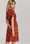 Czerwona Sukienka Brithea