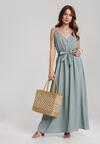 Miętowa Sukienka Ciriteia