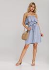 Niebieska Sukienka Themara