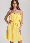 Żółta Sukienka Themara