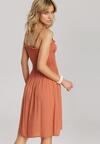 Camelowa Sukienka Arrilia