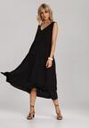 Czarna Sukienka Kalithusa