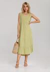 Zielona Sukienka Kalithusa