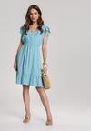 Niebieska Sukienka Asteodone