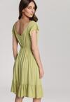 Jasnozielona Sukienka Asteodone