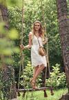 Biała Sukienka Amadorise