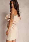 Beżowa Sukienka Dionore