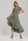 Ciemnozielona Sukienka Calicine