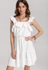 Biała Sukienka Allureida