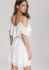 Biała Sukienka Meremeda