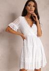 Biała Sukienka Aqealila