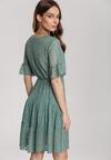 Zielona Sukienka Aqealila