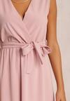 Różowa Sukienka Limoronis