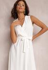 Biała Sukienka Limoronis