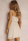 Beżowa Sukienka Nahlyn