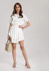 Biała Sukienka Pallerodia