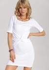 Biała Sukienka Melonna