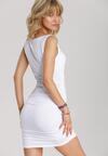 Biała Sukienka Adrimere