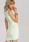 Limonkowa Sukienka Adrimere