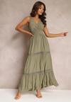 Zielona Sukienka Corisis