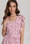 Różowa Sukienka Aegavere