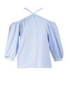 Niebieska Bluzka Nedacia