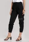 Czarne Spodnie Viviegune