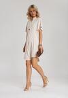 Jasnobeżowa Sukienka Dialla