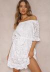 Biała Sukienka Aerila