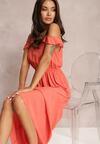 Łososiowa Sukienka Ephesia