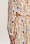 Pomarańczowa Sukienka Guinerinia
