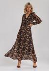 Brązowa Sukienka Guinerinia