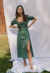 Zielona Sukienka Melorith