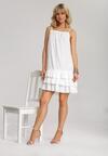 Biała Sukienka Adrilora