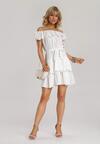 Biała Sukienka Adridah