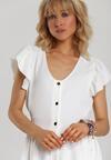 Biała Sukienka Iphanisse