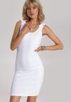 Biała Sukienka Echilyse