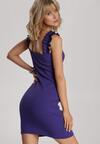Fioletowa Sukienka Echilyse