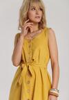 Żółta Sukienka Adrafer