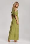 Zielona Sukienka Synasea