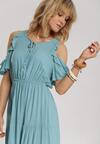 Niebieska Sukienka Synasea